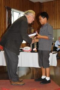 Dargaville Rotary Award- Service to School